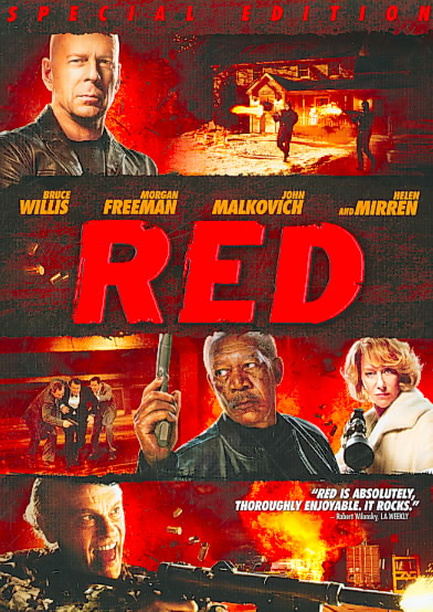 RED (SPECIAL EDITION) BY WILLIS,BRUCE (DVD)