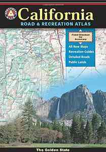 Benchmark Road & Recreation Atlas California By National Geographic Maps