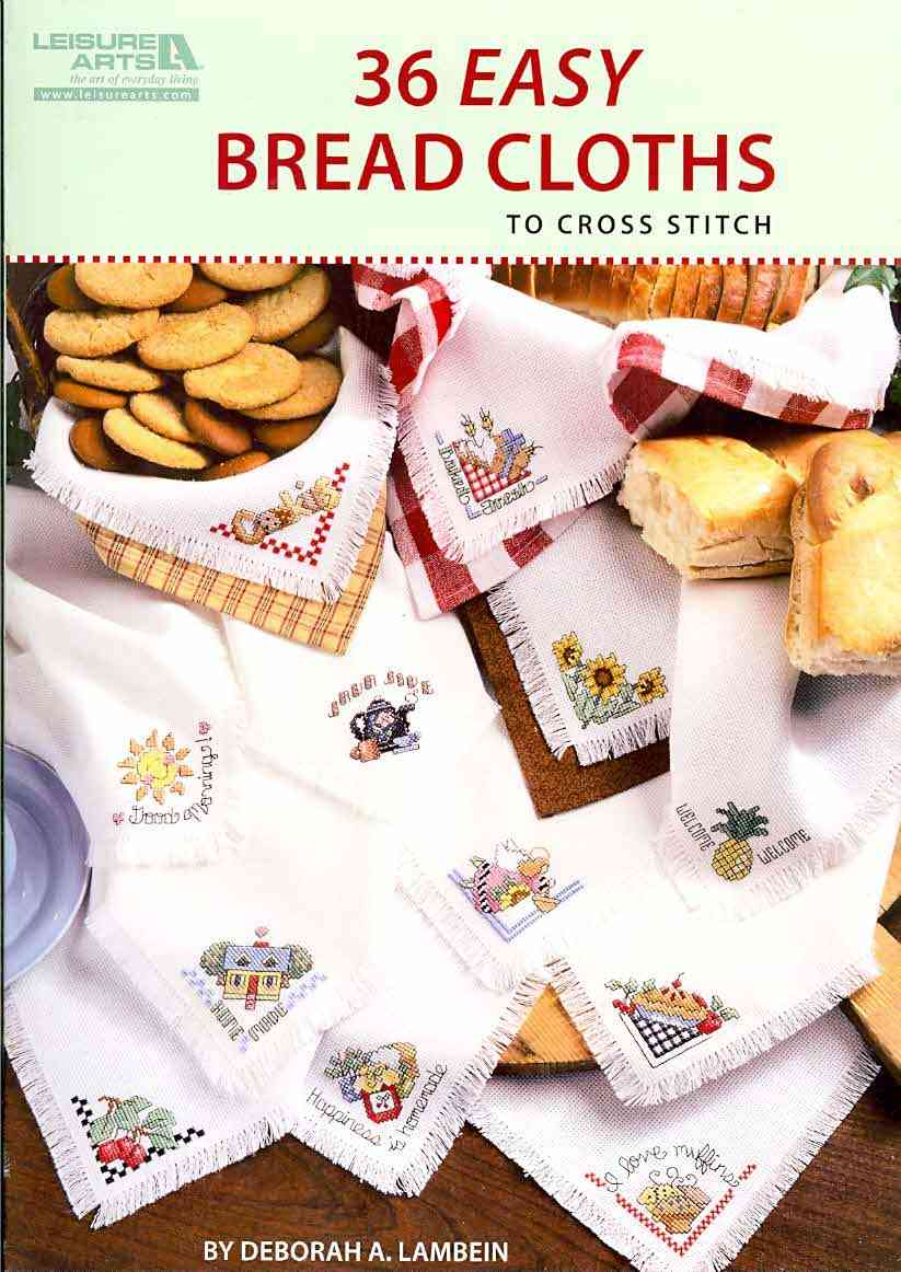 36 Easy Breadcloths By Lambein, Deborah A. (EDT)